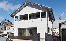 大阪市阿倍野区 M様邸(二世帯) 竣工:2011年2月