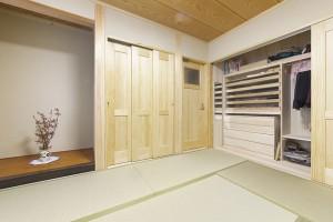 17坪の狭小タイプの自然素材住宅