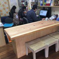 新しいテーブル